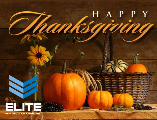 At Elite We Are Thankful!