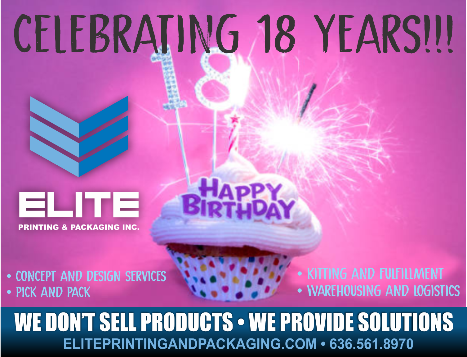 Happy Anniversary Elite!!