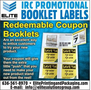 Redeemable Coupon Booklet Labels
