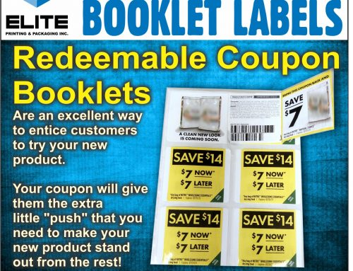 Redeemable Coupon Booklets