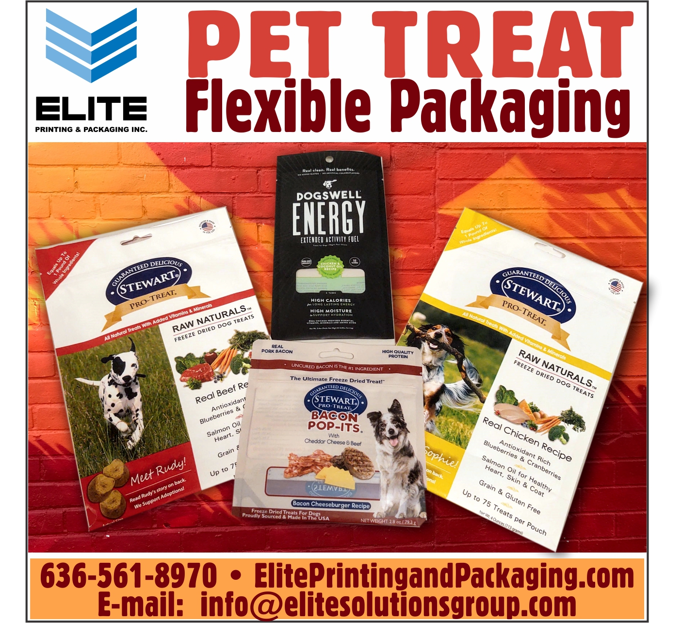Pet Treat Flexible Packaging